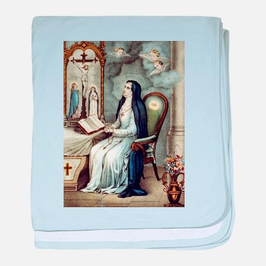 Saint Bridget - 1880 baby blanket