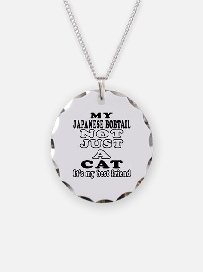 Japanese Bobtail Cat Designs Necklace
