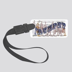 Trumpet Small Luggage Tag