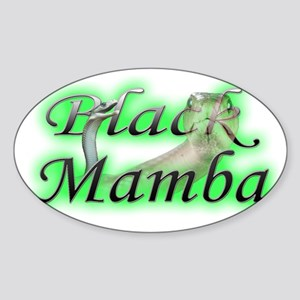 BlackMamba Sticker (Oval)