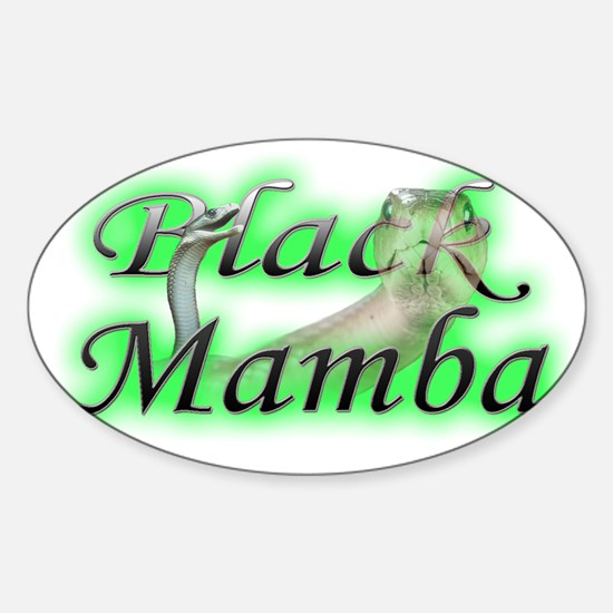 BlackMamba Sticker (Oval)