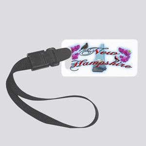 New Hampshire Small Luggage Tag