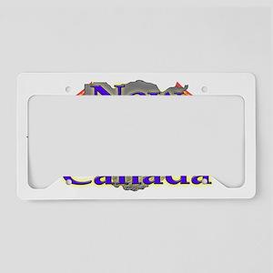 New Brunswick License Plate Holder