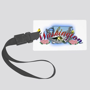 washington Large Luggage Tag