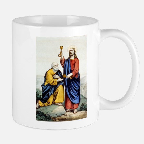 St. Peter receiving the keys - 1907 Mug