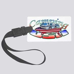 Camping Rv Large Luggage Tag