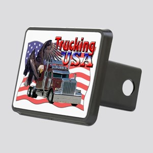 Trucking Rectangular Hitch Cover