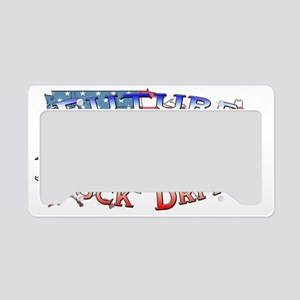 truckdriver License Plate Holder