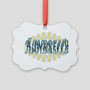handbells Picture Ornament