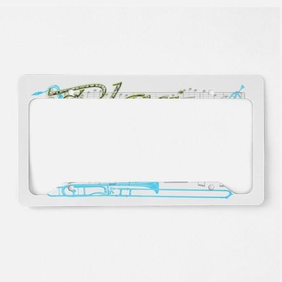 playblues License Plate Holder
