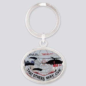 pararescue Oval Keychain