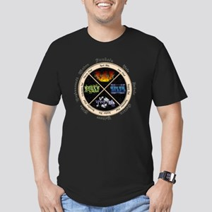 pagan-elements-holiday Men's Fitted T-Shirt (dark)