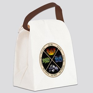 pagan-elements-holidays-inverted Canvas Lunch Bag