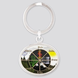 calender Oval Keychain