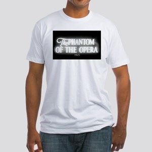 The Phantom of the Opera 1925 Fitted T-Shirt