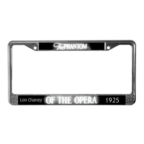The Phantom of the Opera 1925 License Plate Frame by operaphantomgs