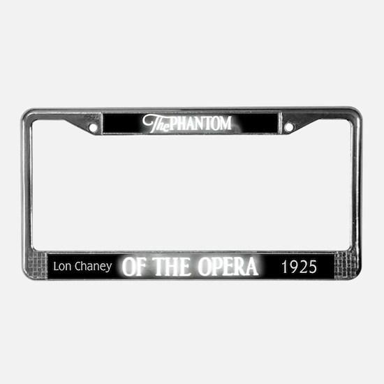 The Phantom of the Opera 1925 License Plate Frame