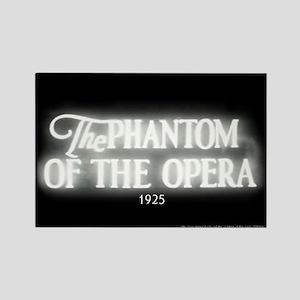 The Phantom of the Opera 1925 Rectangle Magnet