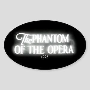 The Phantom of the Opera 1925 Oval Sticker