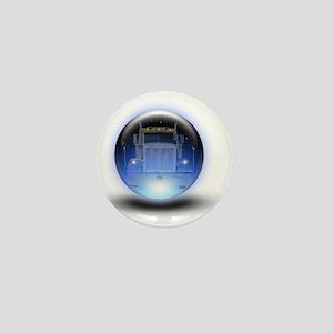 trucker orb2 Mini Button