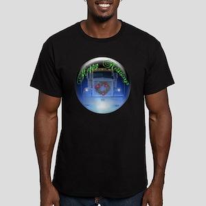 Ornament Men's Fitted T-Shirt (dark)