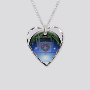 Ornament Necklace Heart Charm