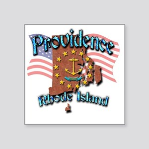 "Providence Square Sticker 3"" x 3"""