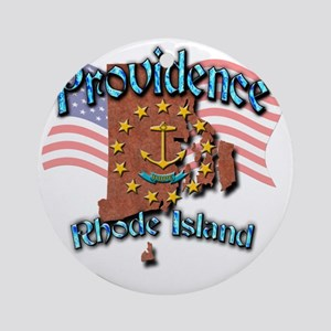 Providence Round Ornament