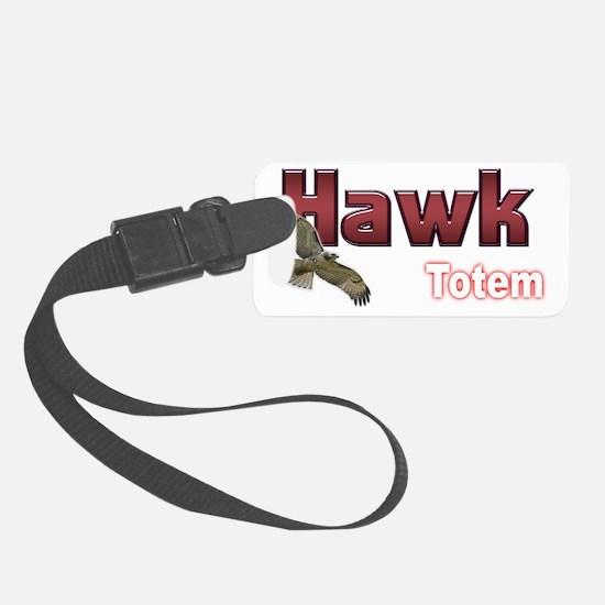 Hawk Luggage Tag