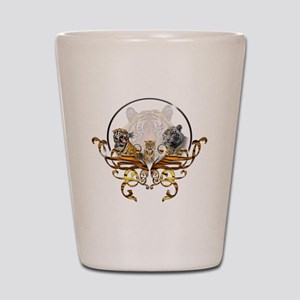 tigers Shot Glass
