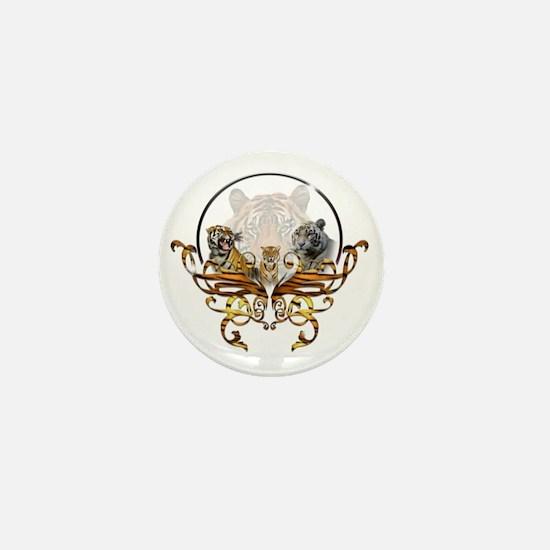 tigers Mini Button