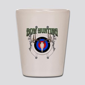 Bow Hunting Shot Glass