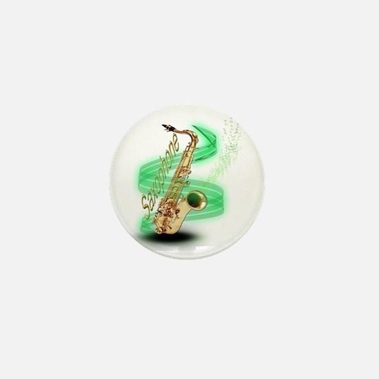 Saxophone wrap Mini Button
