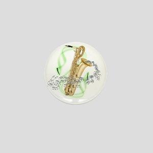BaritoneSaxophone Mini Button