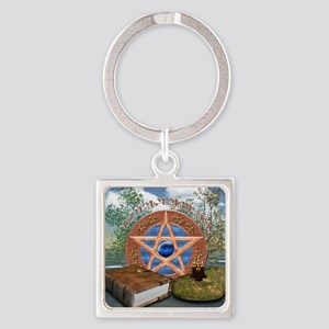 blessedbesquare Square Keychain