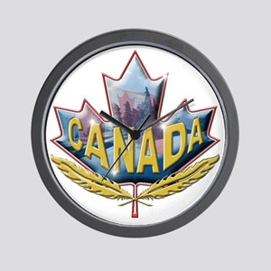 canadian3 Wall Clock