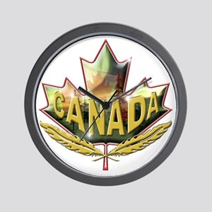 canadian2 Wall Clock