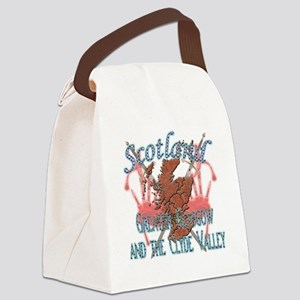 2-Greater Glasgow and the Clyde Canvas Lunch Bag