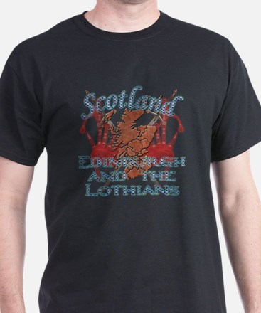 2-Edinburgh and the Lothians T-Shirt