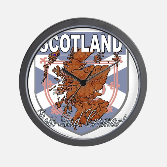 Ross And Cromarty Wall Clock
