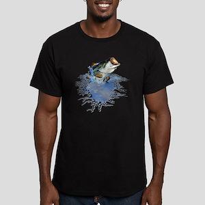 bassfishing Men's Fitted T-Shirt (dark)