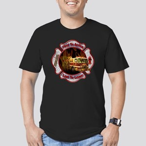 Firefighters Men's Fitted T-Shirt (dark)