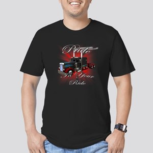 truck3 Men's Fitted T-Shirt (dark)