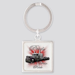 truck4 Square Keychain