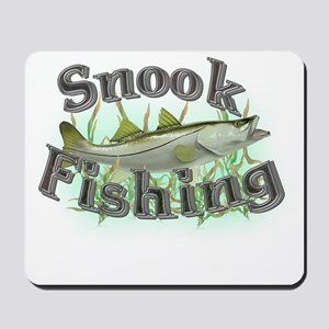 snook fishing Mousepad