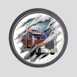 trucking Wall Clock