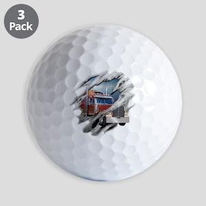 trucking Golf Balls
