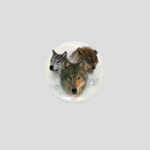 wolves Mini Button