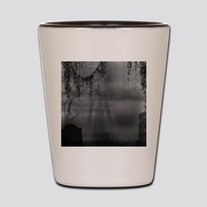 dark places Shot Glass