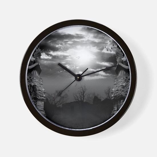 DarkGates Wall Clock